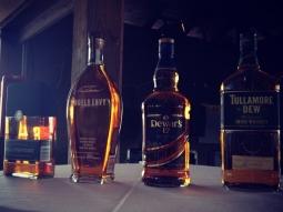 Atlas Beverage Class- whiskeys from around the globe! #atlas #fishhousepensacola #whiskey #angelsenvy #collingwood #dewars #tullamore #premierbeverage #downtownpensacola