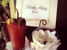 Great Southern Catering & Events had a Bloody Mary bar set up for a wedding at @leehousepensacola this past weekend. #greatsoutherncatering #fishhousepensacola #bloodymary #downtownpensacola #yum