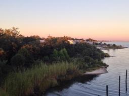 Sunset at #fishhousepensacola and #atlas tonight. Love #October #sunsets! #DowntownPensacola #pensacola #bay #fall