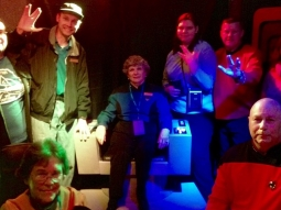 Rock out with your Spock out on The Deck #fishhousepensacola #pensacon #startrek #deckbar #trekkie #beermeupscotty