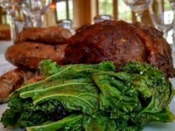 Good morning, Downtown Pensacola! The weather is beautiful so come on down to Jackson's for lunch to taste today's special. Chef has prepared Benton's bacon wrapped meatloaf with fingerling sweet potatoes and Covey Rise kale. Lunch is served from 11-2, so we hope to see you today! #joinus #jacksonsrestaurant ##DowntownPensacola