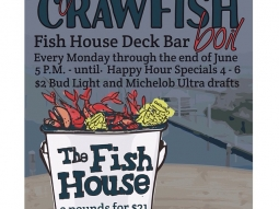 #crawfish #deckbar #fishhousepensacola #budlight #michultra #crawfishboil #mondays #upsideofflorida #downtownpensacola #florida