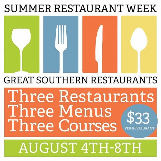 Summer Restaurant Week Pensacola
