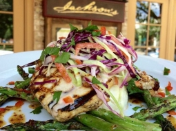 Come on over to Jacksons and join us for a delicious lunch this afternoon.  Today Chef has prepared grilled swordfish, fontina rice grits, Asian slaw, grilled asparagus, and a ginger, soy, mirin reduction.  #jacksonsrestaurant #Visit Pensacola #VISIT FLORIDA