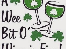 ...or a big bit o' wine, too! ?