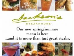 #springsummermenu #jacksonsrestaurant #downtownpensacola #sogodistrict