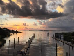 Good morning Pensacola! We love our home ? #FishhousePensacola #Pensacola #sunrise #DowntownPensacola