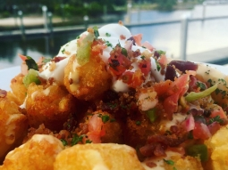 Holy loaded tots ? Come see us on The Deck Bar! Opens at 4. Bad habits live at 9!