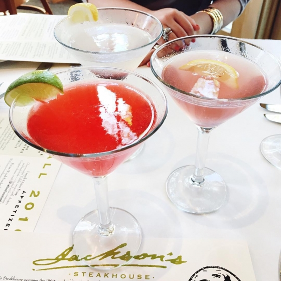 Cheers to the weekend, @downtownpensacola! #jacksonsrestaurant