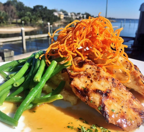Great southern restaurants perfect day for lunch for Jack fish recipe