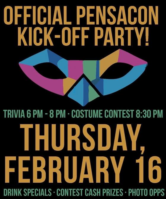 TONIGHT!!!!!! #pensaconatfishhouse #pensacon #pensacon2017 #downtownpensacola