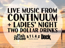 @continuumsound is playing on the deck TONIGHT for ladies night! Continuum is also playing on The Deck Friday night and Saturday night!