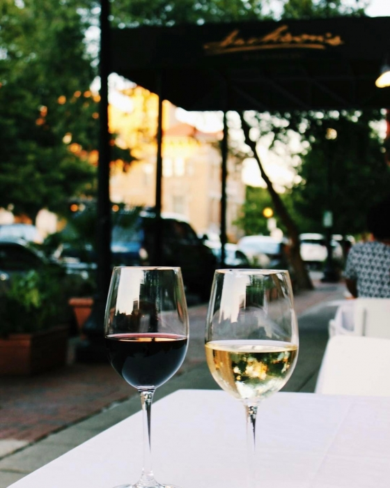 It's Wine Down Wednesday!  Come see us of half off wine on our Governer's list! #jacksonsrestaurant