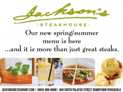 Come see us tonight for our new spring menu debut! #jacksonsrestaurant