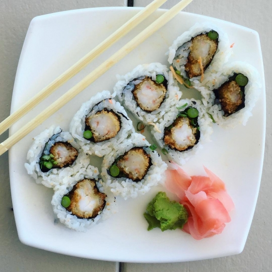It's half price sushi at Atlas TONIGHT!