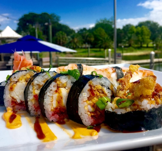 Tonight is half price sushi night at Atlas! Come see us for dinner!