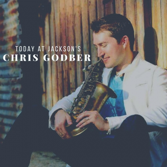 Come and jazz up your lunch with us on this beautiful Friday! Today we have chart-topping saxophonist @chrisgodbersax performing from 11am-2pm @foofoofest #foofoofest #JacksonsRestaurant