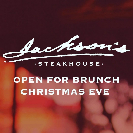 We will be open for brunch on Christmas Eve from 11am-2pm! Please call: (850)469-9898 to make your reservation.