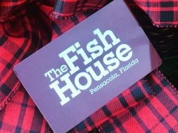 Need a last minute gift idea?! A Fish House gift card is perfect for everyone on your list! (Cards are valid for use at Jackson's Steakhouse too!) Purchase gift cards and check out other gift ideas in The Fish House Tackle Shop, our souvenir and gift shop! Call (850) 912-6622 or visit greatsouthernrestaurants.com/shop for more info!  #FishHousePensacola #FishHouseTackleShop