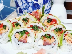 Want to celebrate this beautiful Florida weather we are having today??? We know just how! Half-priced sushi at Atlas starting tonight at 5:00 pm?  ALSO** if you are the 250th sushi order, you receive a $25 gift certificate?? #sushi #pensacola #fresh #downtownpensacola #onthewater