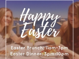 Happy Easter from all of us at The Fish House! We will be serving brunch today from 11am-3pm and dinner from 3pm-10pm. We hope you all have a wonderful Sunday!