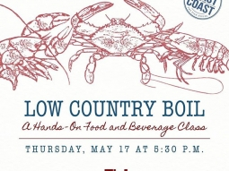 Come learn the basics of a boil with us! Join us for the kick-off of our 6th annual Toast of the Coast series! For more information, follow the link below:  https://greatsouthernrestaurants.com/2018/04/toast-of-the-coast-a-hands-on-food-and-beverage-social-series-3/