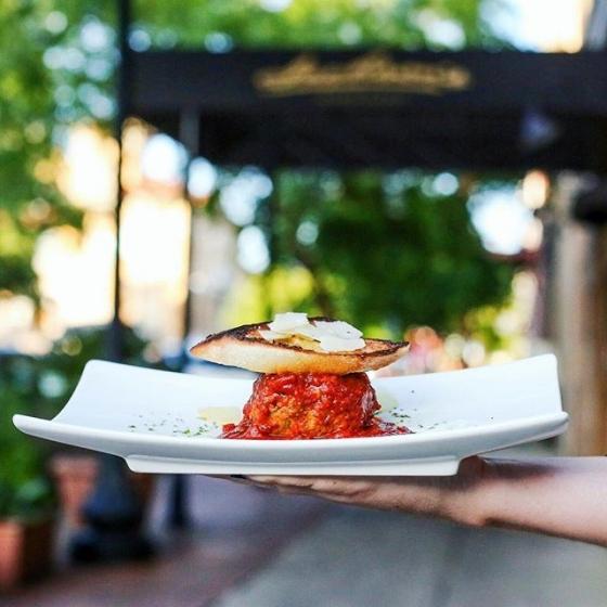 Who's ready for dinner? We are! #Albondiga