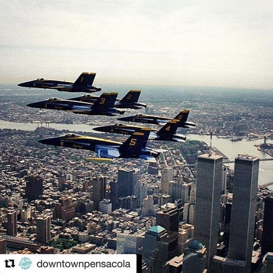 "#Repost @downtownpensacola ??? #Repost @blueangelsassociation with @get_repost ??? ""Time is passing. Yet, for the United States of America, there will be no forgetting September the 11th. We will remember every rescuer who died in honor. We will remember every family that lives in grief. We will remember the fire and ash, the last phone calls, the funerals of the children."" former President George W. Bush #neverforget #blueangels"