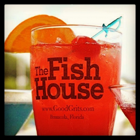 It's ladies night in #DowntownPensacola! $2 you-call-it for the ladies on #thedeckbar! #ladiesnight #2dolladrinks #cheapdrinks #fishhousepensacola #fishhousepunch