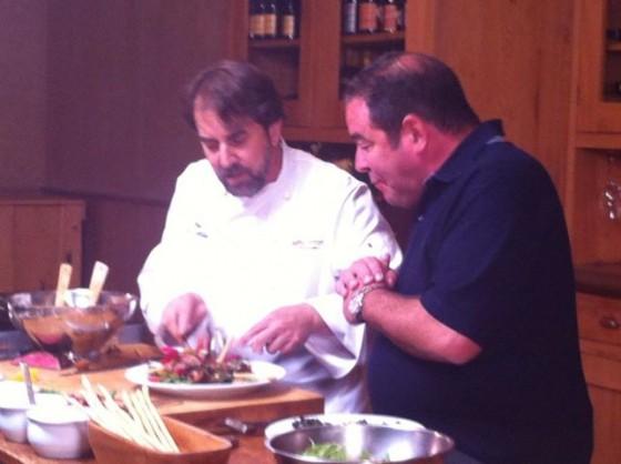 Chef Irv & Emeril Lagasse