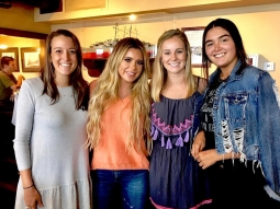 Thanks for coming to see us @briellebiermann! We hope you enjoy Pensacola!