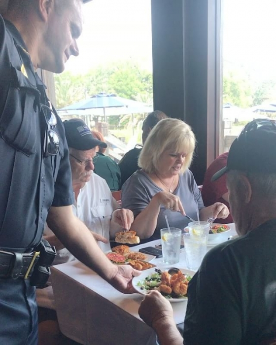Be sure to stop by for lunch and dinner to Tip-A-Cop! 100% of the tips donated will benefit Special Olympics Florida!