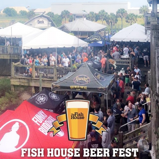 Our Annual Fish House Beer Fest is in full swing! Check it out and use our new Snapchat filter to celebrate this fun event! #fishhousepensacola #pensacola #downtownpensacola