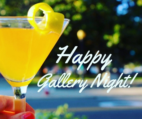 It's Gallery Night! Stop by and see us for some refreshment as you make your way down Palafox!  @gallerynightpensacola