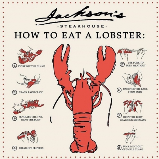 It's time for lobster! #jacksonsrestaurant #mainelobstermonday