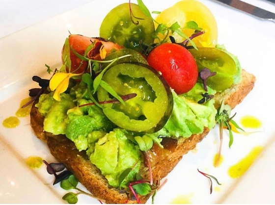 Sunday brunch calls for avocado toast! #SundayBrunch #AvocadoToast