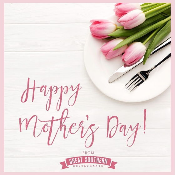 Happy Mother's Day on behalf of all of us at Great Southern Restaurants! We hope you all have a wonderful day spent with family and friends!